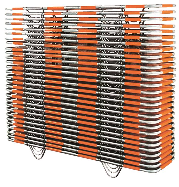 Stacked stretchers